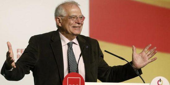 """El recadito de Borrell a Iceta, sobre los indultos: """"Antes de cerrar las heridas hay que desinfectarlas"""""""