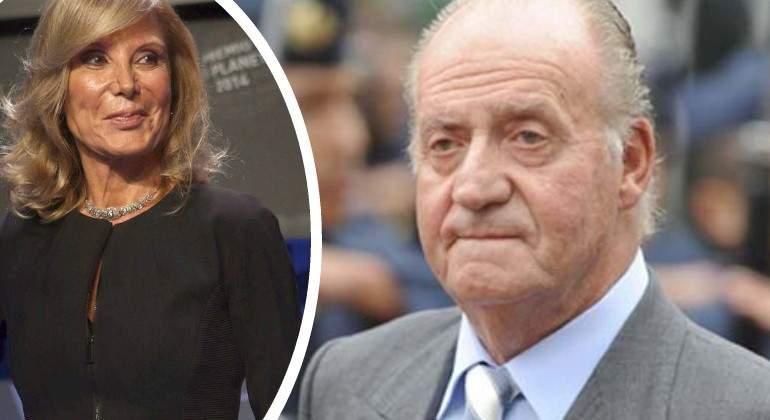 Pilar Eyre asegura a Risto Mejide que el Rey Juan Carlos I tiene una hija ilegítima