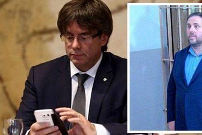 Puigdemont es un esperpento: así trolea sin querer a sus 'amigos' de la cárcel