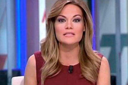 La 'cagada' en directo de Rocío Delgado, presentadora de las noticias en Telemadrid