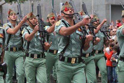 El Ejército de Tierra prohíbe los cánticos machistas tras este desfile de la Legión