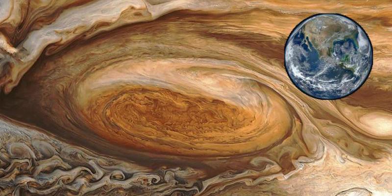 Universo: La Gran Mancha Roja de Júpiter penetra 300 kilómetros en la atmósfera del planeta