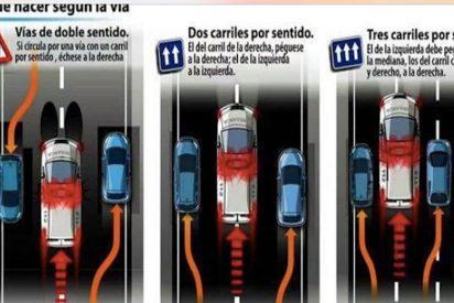 La Policía Nacional explica en Twitter cómo hay que ceder el paso a los vehículos de emergencia y muchos le hacen este reproche