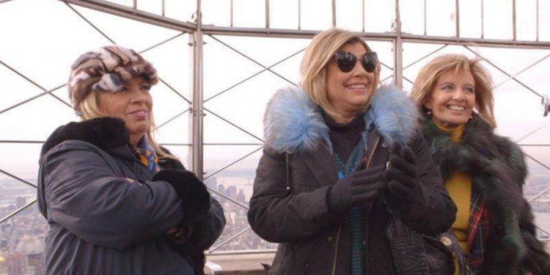 'Telecinco': ' Regresan 'Las Campos' de Nueva York con bronca entre Terelu y Carmen Borrego