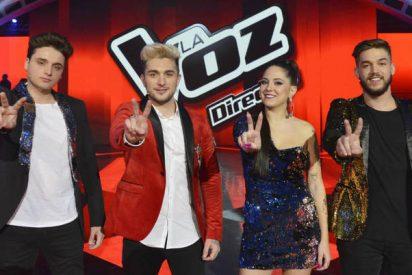 'Telecinco': Pedro, Samuel, Alba y Gabriele compiten a por el 'Gordo' de 'La Voz'