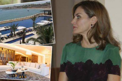 Letizia en Dakar: así es su exclusivo alojamiento
