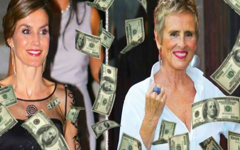 La Reina Letizia, Mercedes Milá y otros famosos a los que les tocó la Lotería de Navidad
