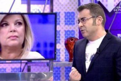 'Telecinco': La espantada de Terelu provoca la bronca en directo de Jorge Javier Vázquez