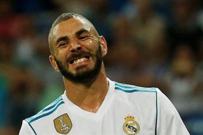 Benzema vuelve lesionado de las vacaciones y deja al Real Madrid sin la BBC