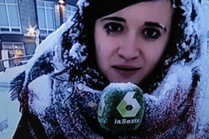'Más Vale Tarde': Revuelo en la red por cómo ha informado esta reportera de las nevadas