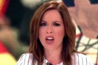 La pillada a Mamen Mendizábal en 'Más Vale Tarde' por culpa de su vestimenta