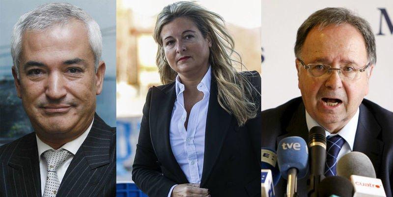 'Manos Limpias': La Fiscalía pide 118, 24 y 11 años de cárcel para Pineda, Bernad y López Negrete
