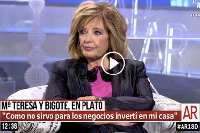 María Teresa se despacha a gusto con Ana Rosa