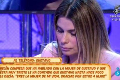 'Sálvame': María Lapiedra llora desconsolada tras descubrir que Gustavo González le había mentido