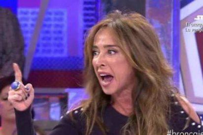 María Patiño arremete contra Diego Arrabal y Jorge Javier lo expulsa de 'Sábado Deluxe'