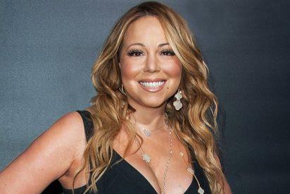 Mariah Carey y su misteriosa silla invisible lo peta en la red
