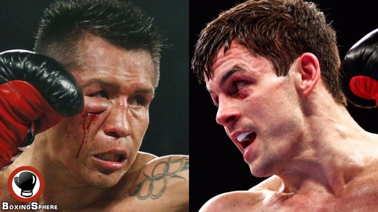 La escalofriante derrota de un boxeador al que le arrancan una oreja a puñetazos