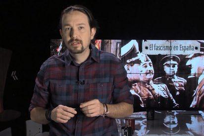 El acojonante monólogo de Pablo Iglesias sobre el fascismo donde fusila a Pablo Casado