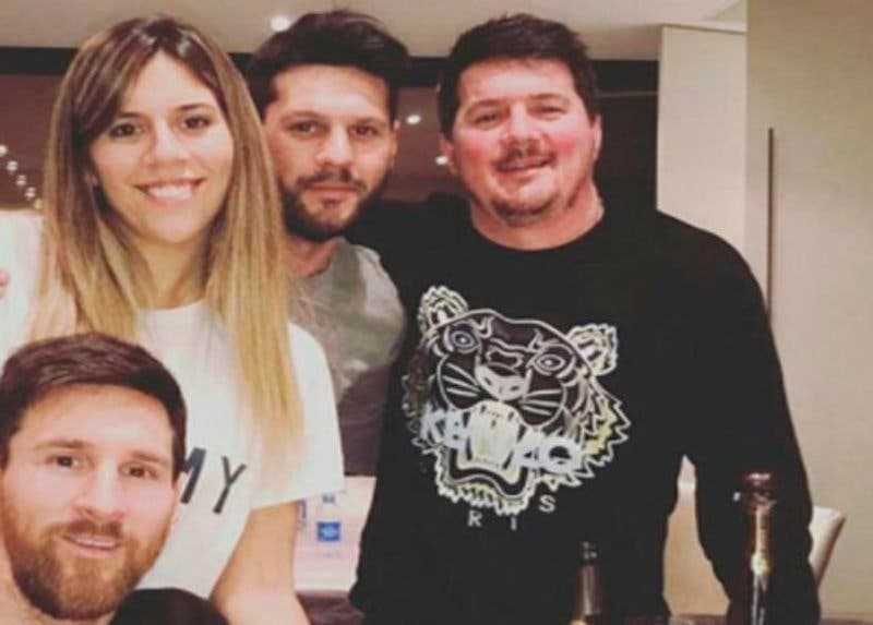 La Policía argentina detiene a Matías, el hermano mayor de Leo Messi, por tenencia ilícita de armas