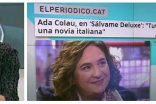 """La pirómana de TV3 se gana el sueldo: """"Puigdemont no puede ir a Sálvame, porque acabaría en Estremera"""""""
