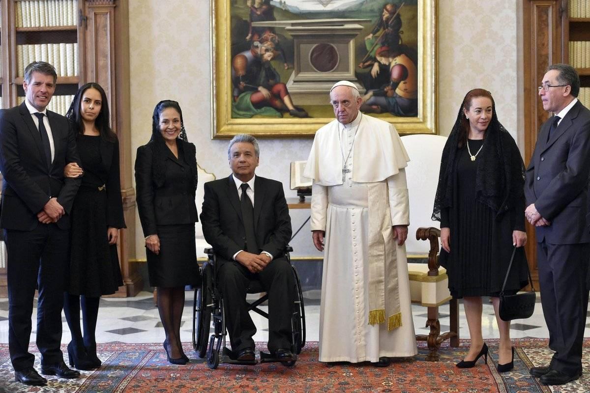 El Papa y el presidente de Ecuador hablaron sobre el futuro de la Amazonía