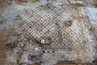Descubren un mosaico cristiano de hace 1.500 años en Israel