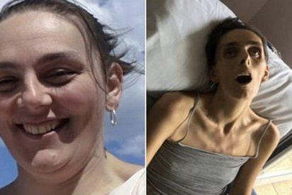Hombre comparte crudas imágenes de su difunta esposa para concienciar a otras mujeres