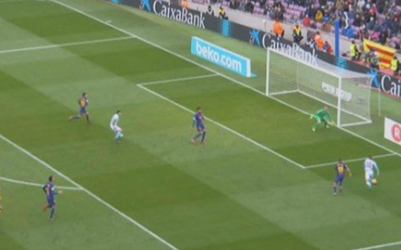 Escandalosa final entre Barça-Celta