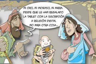 ¡Feliz Navidad! ¡Nos ha nacido un Niño, esperanza de los empobrecidos!