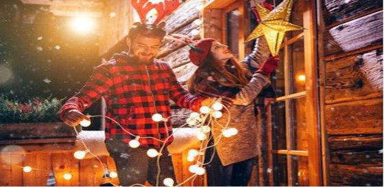 Mejores ideas de decoración de Navidad modernas por