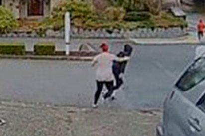 """[VIDEO] Así evitó un robo y capturó a una ladrona en la puerta de la casa esta """"niñera Rambo"""""""