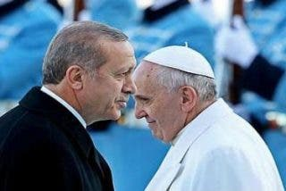 Erdogan llama al Papa para hablar del conflicto en Jerusalén