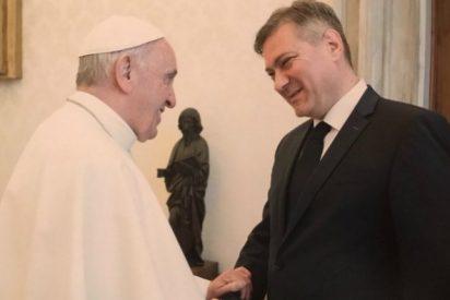 El Papa recibe al primer ministro de Bosnia y Herzegovina