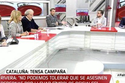 Ana, ¿estabas ahí? La directora de 'Público Today' evita comentar nada sobre el vil asesinato de Víctor Láinez