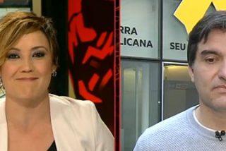 """Cristina Pardo ridiculiza al temeroso separatista que sospecha de un pucherazo el 21-D: """"¿Contar votos el 1-O fue limpio?"""""""