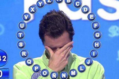 'Pasapalabra': un concursante de rompe a llorar ante la atónita mirada de Christian Gálvez
