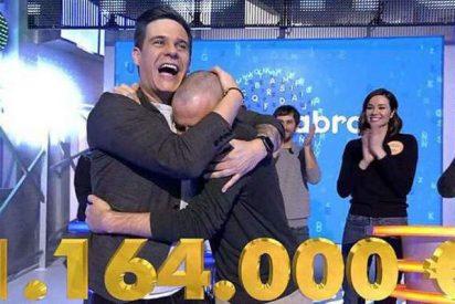 Antonio Ruiz gana el bote millonario de 'Pasapalabra' y se lleva 1.164.000 euros