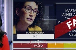 Ana Pastor desmonta otra trola de la mentirosa compulsiva Marta Rovira