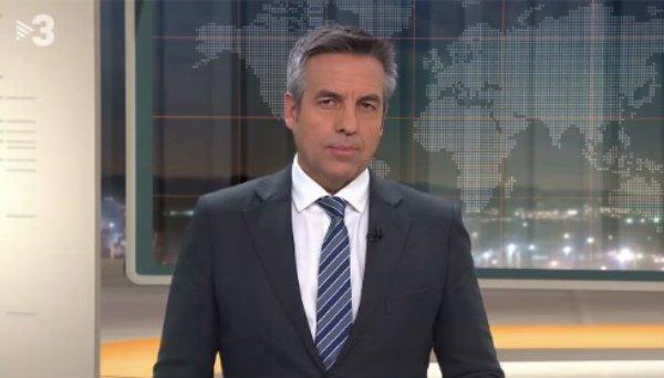 """El presentador de TV3 Ramón Pellicer se queja de que no le dejan hablar de """"presos políticos"""""""