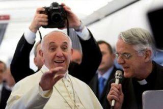 """Francisco, a los periodistas italianos: """"No caigan en el pecado de la desinformación"""""""