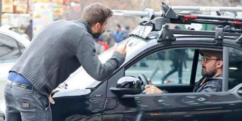 Gerard Piqué se enzarza y casi acaba a palos con un fotógrafo y un taxista en Nueva York