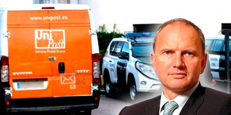 La Guardia Civil arresta al director general de Unipost por complicidad en el referéndum ilegal del 1-O