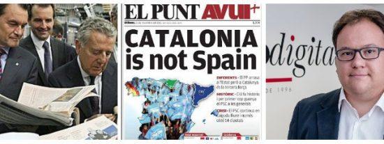 El 155 desata el pánico en La Vanguardia y El Periódico y provoca un ERE en El Punt-Avui