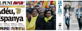 """La prensa golpista catalana incendia el 21-D: """"Los unionistas no quieren gobernar Cataluña, quieren arrasarla"""""""