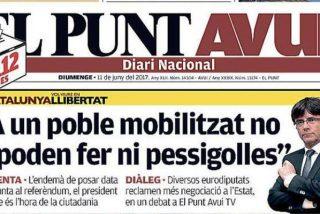 El diario independentista 'El Punt Avui', al borde del abismo tras quedarse sin subvenciones del procés