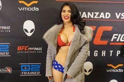 """Rachael Ostovich, la sexy """"mujer maravilla"""" que cautivó a la UFC en su debut"""