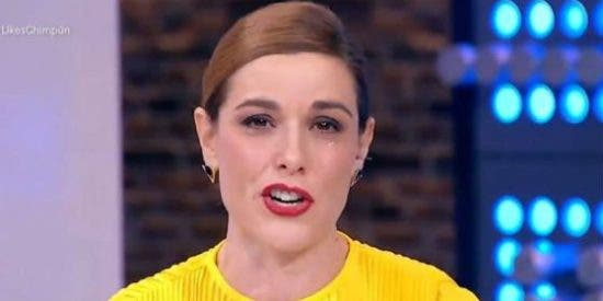 Raquel Sánchez Silva, destrozada en directo: