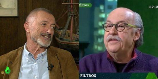 'Zasca' de Ferrán Monegal a Arturo Pérez-Reverte por criminalizar las redes sociales