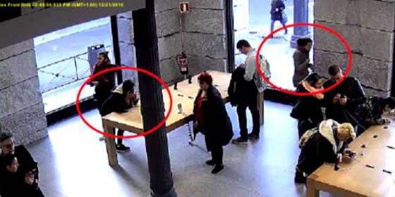 Roban 11.000 euros en Iphones y la Policía no les puede empapelar...¡por ser menores de 14 años!
