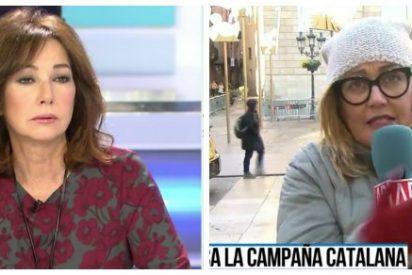"""Ana Rosa le para los pies a su reportera estrella por defender de los golpistas: """"Mayka, hay investigaciones que saldrán a la luz"""""""